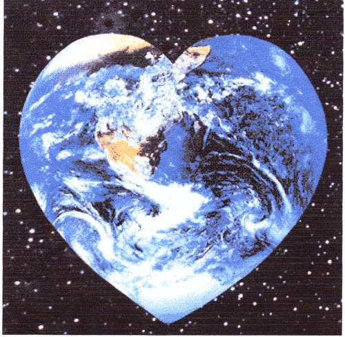 1 Earth Heart alone