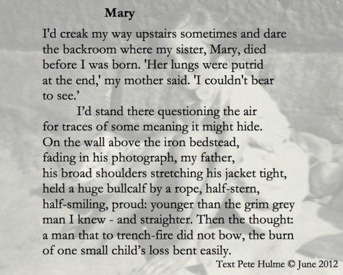 Mary poem