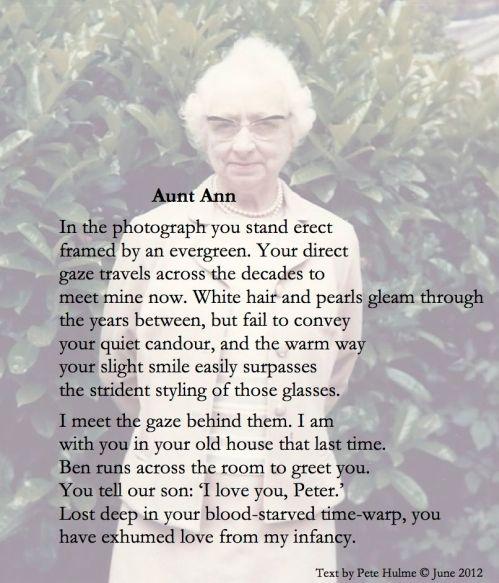 Aunt Ann Revd