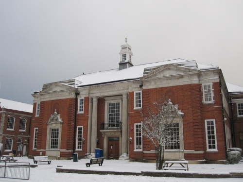 Hendon library