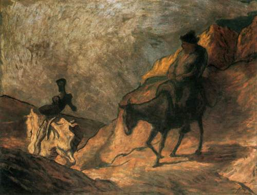 Daumier Don Q & Sancho P
