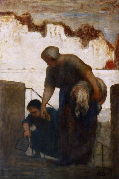 Daumier Washer woman