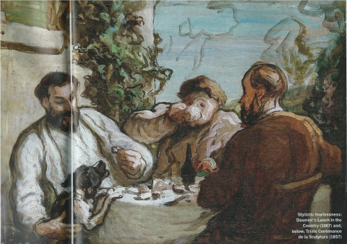 Lunch in the Country Daumier