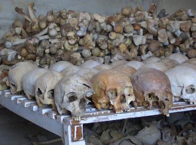 rwanda genocide tutsi skulls