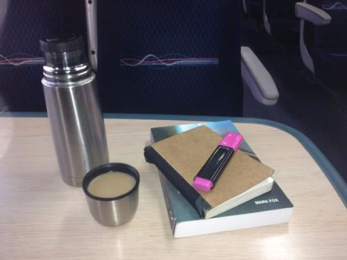 Table on Train