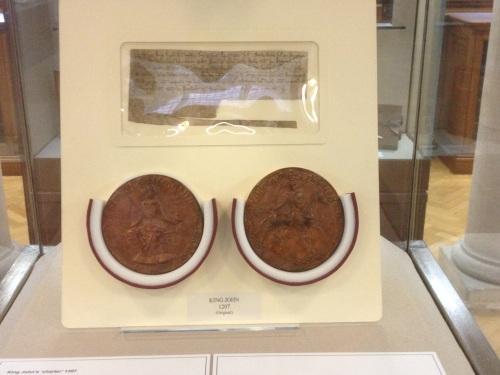 King John's seal 1207