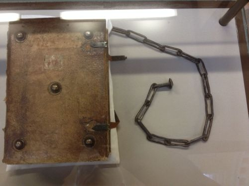 medieval chained book