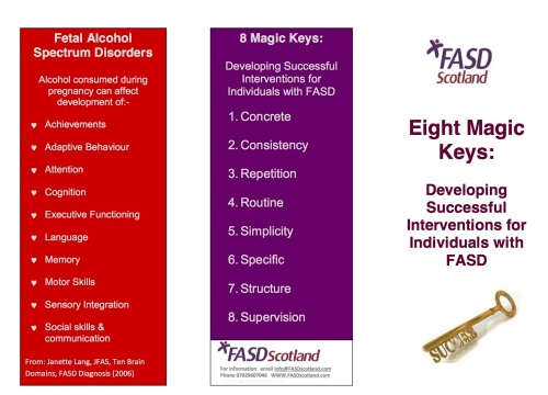 8 Magic Keys FASD Scotland 22 09 13