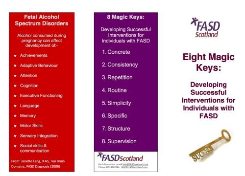 8 Magic Keys FASD Scotland 22 09 13