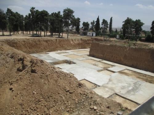 Bahá'í Cemetery Shiraz