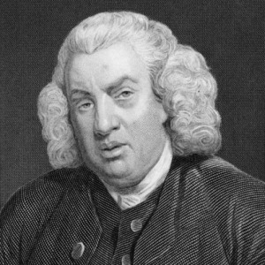 Samuel Johnson (for source of image see link)