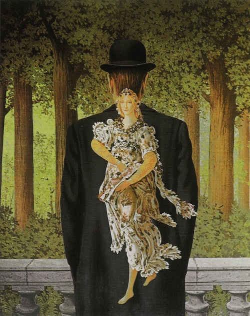 'The Ready-Made Bouquet' by René Magritte