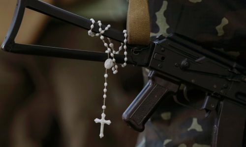 guns and rosaries