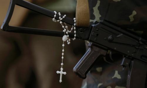 guns and rosaries