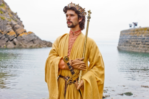 """Ben Whishaw as Richard II in """"The Hollow Crown: Richard II"""". Credit: Courtesy of Nick Briggs © Neal Street Productions"""