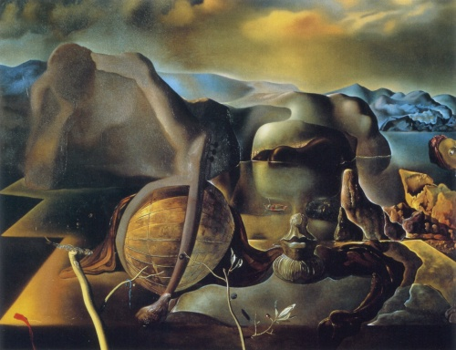 The Endless Enigma 1938 by Salvador Dali (for source of image see link)