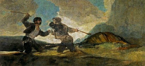 The Cudgel Fight (for source of image see link)