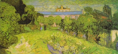 'Daubigny's Garden' (image scanned from the Taschen 'Complete Paintings')