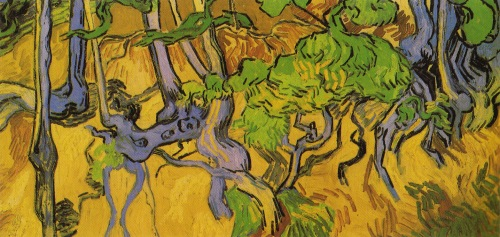Tree Roots by Vincent van Gogh