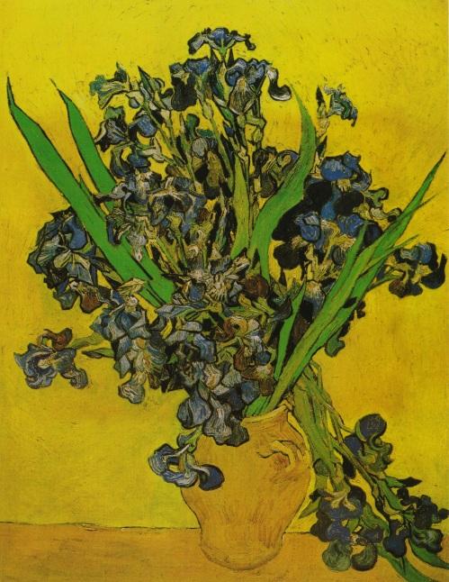 Vase with Irises VG 1890