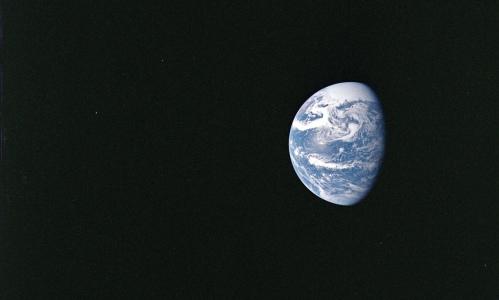 The world's population currently consumes the equivalent of 1.6 planets a year, according to analysis by the Global Footprint Network. Photograph: NASA (For source see link)
