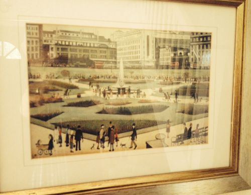 My copy of 'Piccadilly Gardens'