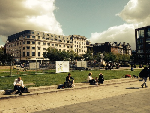 Piccadilly Gardens Aug 2015