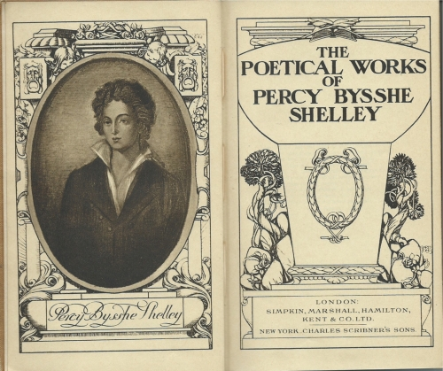 My edition of Shelley