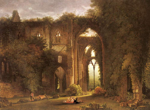 Tintern Abbey (for source of image see link)