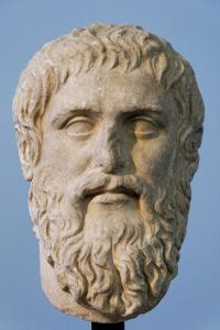 Plato: copy of portrait bust by Silanion