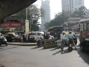 A junction in Mumbai