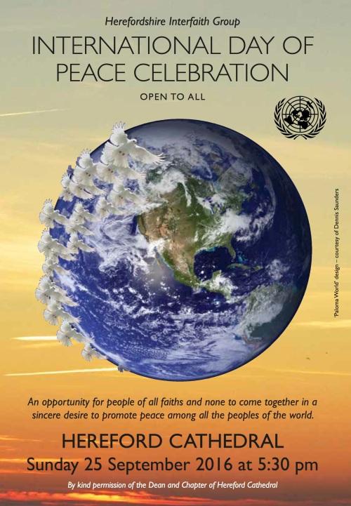 Peace Day Invite