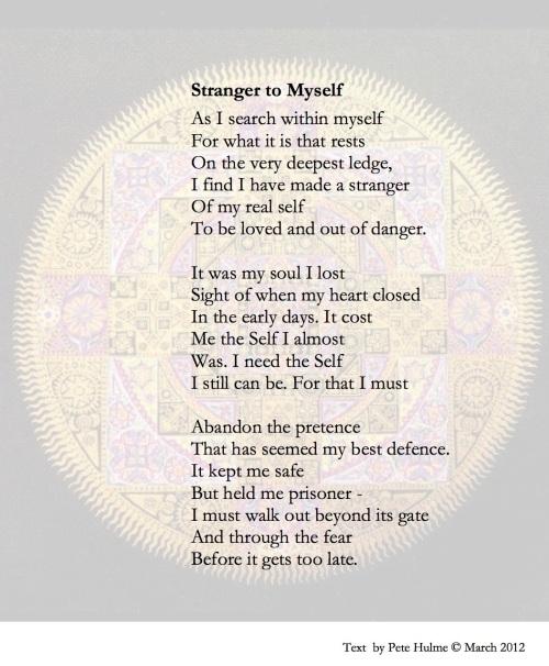 Stranger to Myself brief