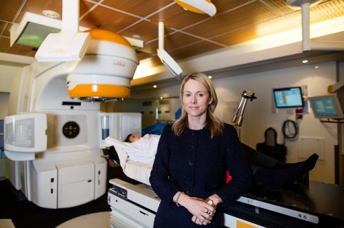 Dr Bronwyn King at the Epworth radiation oncology department in Melbourne, Australia. Photograph: Meredith O'Shea for the Guardian