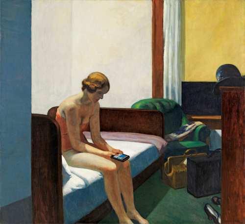Based on: Hotel Room, by Edward Hopper (1931). Photo: Kim Dong-kyu