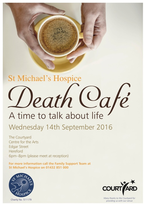 Sept death cafe poster