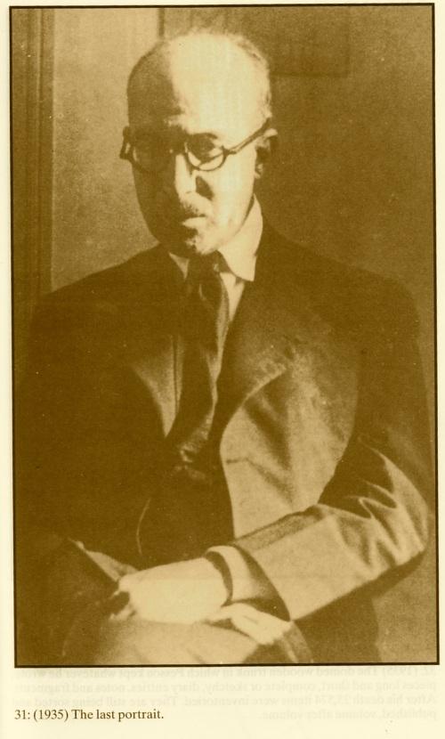 Fernando Pessoa (1888-1935) Image scanned from 'The Centenary Pessoa.
