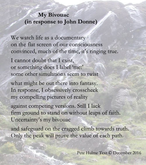 For Donne's poem see link lines 76-82