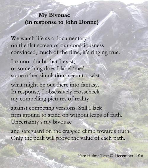 For Donne's poem see link lines 76-82