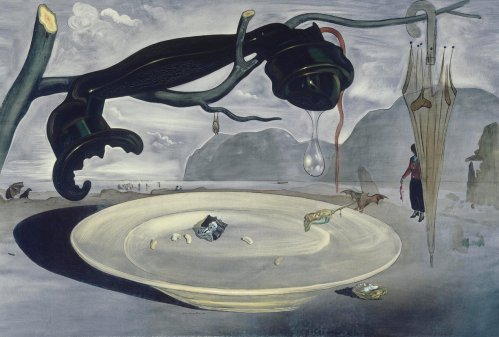 'Dangerous honesty': The Enigma of Hitler by Salvador Dalí (1939). Illustration: Museo Nacional Centro de Arte Reina Sofía